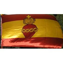 Bandera de España Sagrado...
