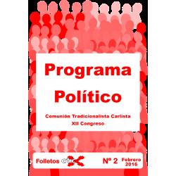 Programa político de la CTC...