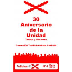 30 aniversario de la Unidad