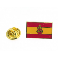 Insignia bandera de España...