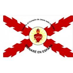 Bandera Cruz de Borgoña y...