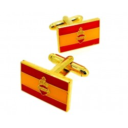 Gemelos bandera de España...