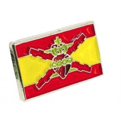 Insignia bandera de España,...