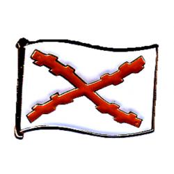 Insignia bandera Cruz de...